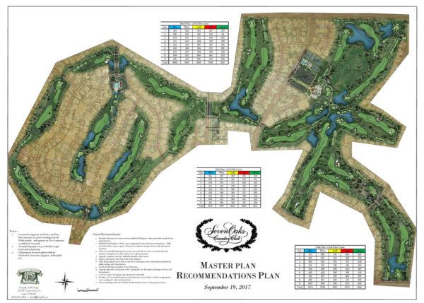 Seven Oaks Country Club Master Plan